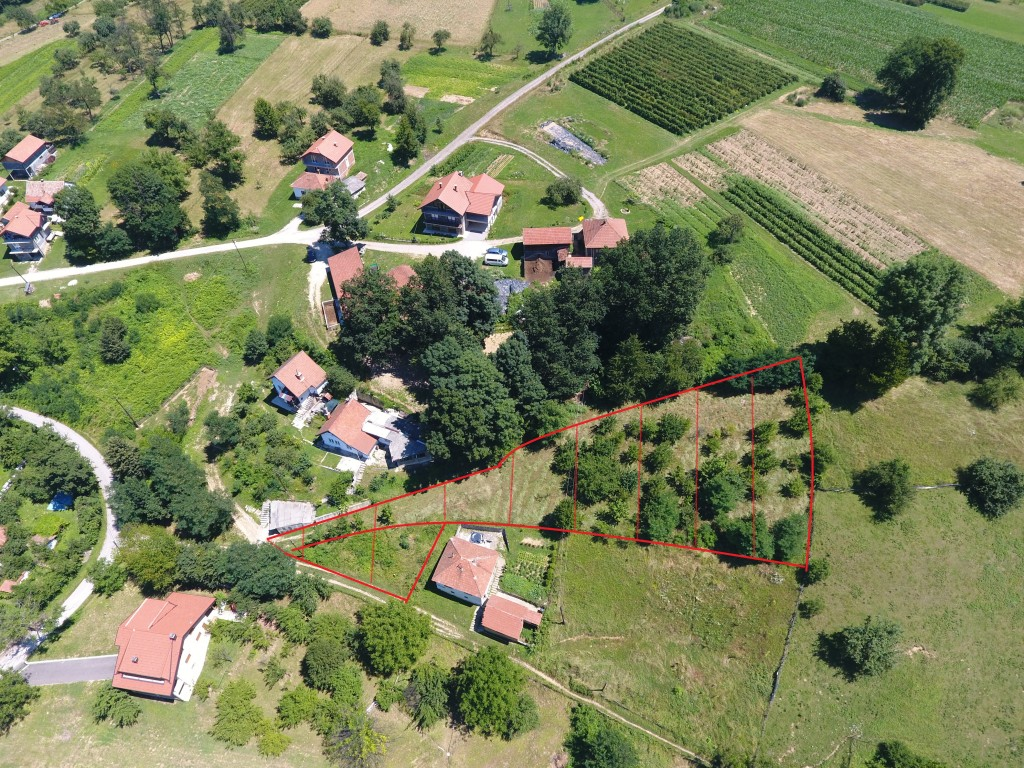 Prodaje se zemljište u Visokom (Mulići)