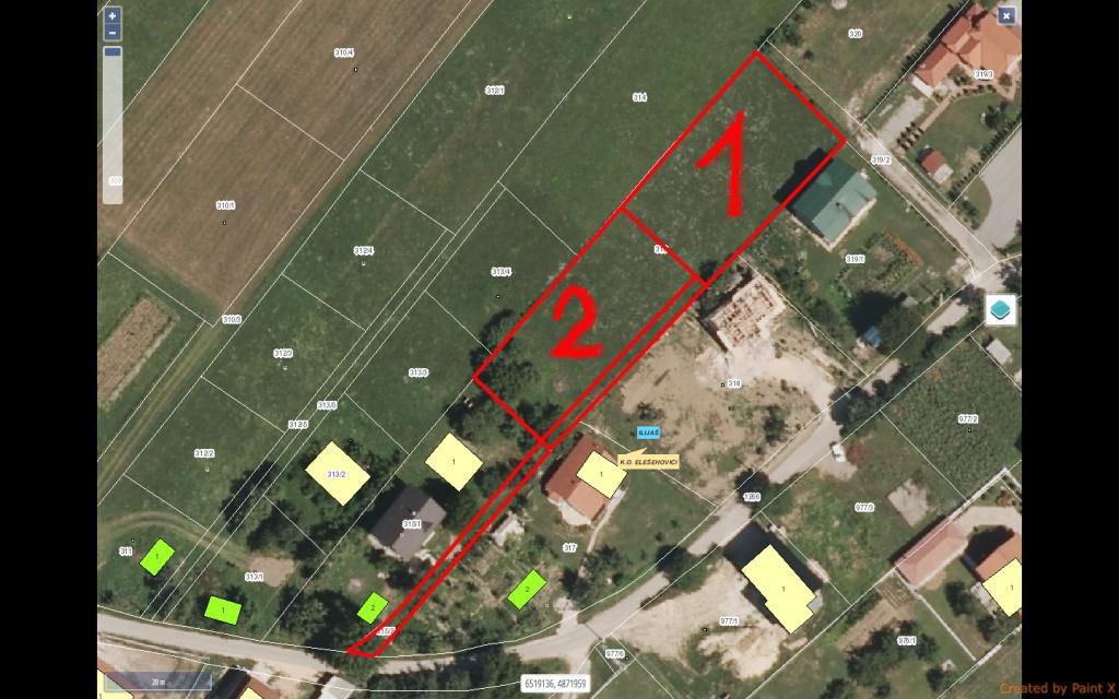 Prodaju se 2 parcele zemljišta u Ilijašu(Lješevo)